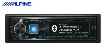 ALPINE iDE-178BT: Autoradio mit USB und BT