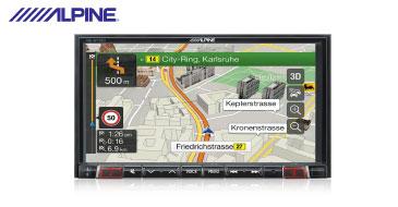 Alpine INE-W710D